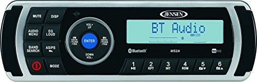(Jensen MS2ARTL AM/AM/FM/USB Bluetooth Stereo with App Control)
