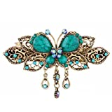 Sankuwen Women Retro Butterfly Style Hair Clips Beauty Tools
