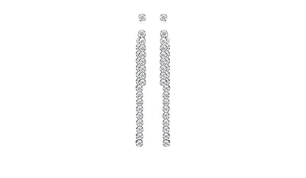 deb0411ae3100 Swarovski Subtle PE Jacket Set Earrings - 5224174: Amazon.com.au ...