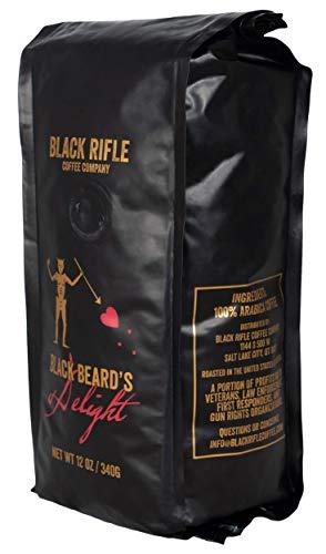 Black Rifle Coffee Whole Bean (Blackbeard's Delight (Dark Roast), 12 Ounce)