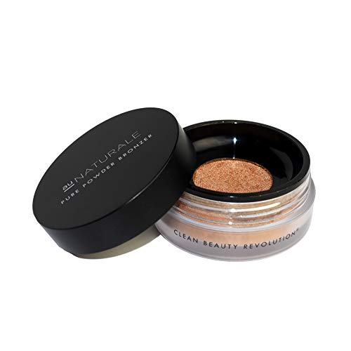Au Naturale Pure Powder Bronzer in Kissed | Made in the USA | Vegan | Cruelty-free