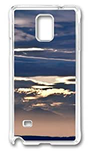 Adorable Beautiful clouds Hard Case Protective Shell Cell Phone For Case Ipod Touch 5 Cover - PC Transparent