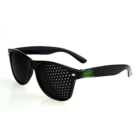 Blue MMRM Hyperopia Astigmatism Pinhole Glasses Sunglasses Vision Care Improver Glasses