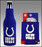 SET OF 2 INDIANAPOLIS COLTS CAN & BOTTLE KOOZIE COOLER