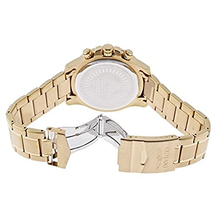 Invicta Men s 14878 Specialty Chronograph Gold Ion-Plated Watch