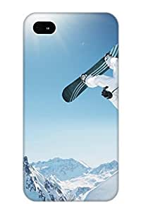 lintao diy Alexanderdson Brand New Defender Case For Iphone 4/4s (extreme Snowboarding) / Christmas's Gift WANGJIANG LIMING