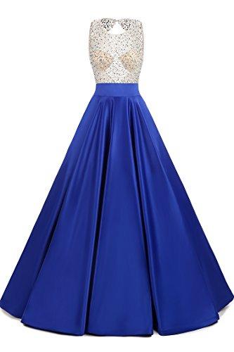 LovingDress Dresses Satin Beaded Bodice product image