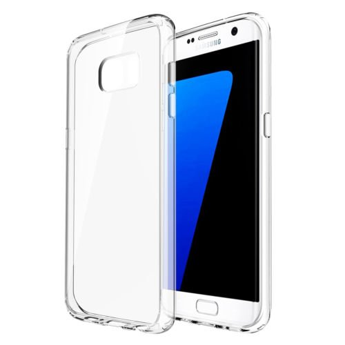 Slim Transparent Clear TPU Soft Case Cover for Samsung Galaxy S7 Edge Fundas