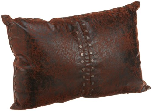 Croscill Plateau Boudoir Pillow, 20-inch by 14-inch, Brown