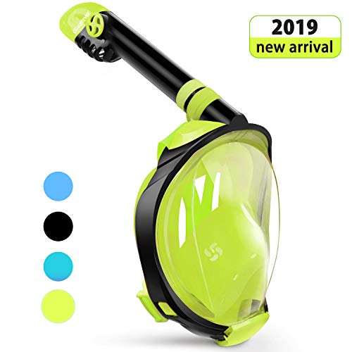 Greatever G2 Full Face Snorkel Mask with Latest Dry Top