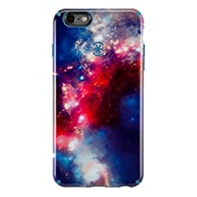 Speck Products CandyShell Inked Case for iPhone 6/6S - SuperNova Red Pattern/Tahoe Blue