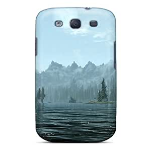 Cases For Galaxy S3 With Skyrim Lakeside