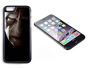 iPhone 6 Black Plastic Hard Case with High Gloss Printed Insert Harry Potter Lord Voldemort