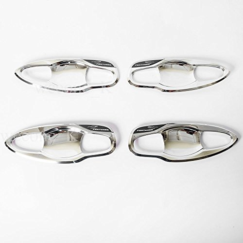 Door Handle Cover Fortuner 2015 Chrome - 2
