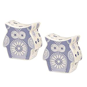 Penzance Owl Shaped Salt & Pepper Shakers