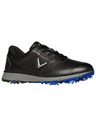 Callaway Men's Balboa TRX Golf Shoe Black/Grey 10 W US