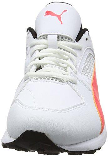Hommes Pour blanc De Corail Team Puma noir ardent Chaussures Blancs Rubber Cricket CqgSwSY