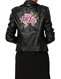 TheMogan Faux Leather Motorcycle Biker Slim Fit Short Coat Jacket Many Styles