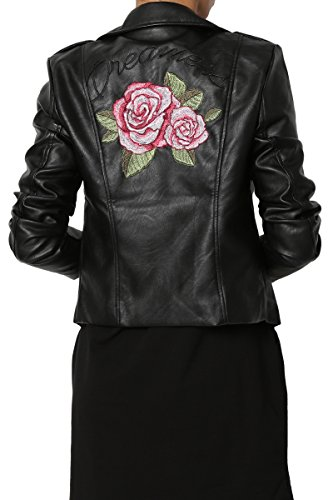 Rose Embroidered Jacket - 7