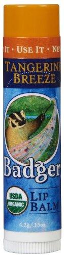 Badger Lip Balm Stick-Tangerine Breeze