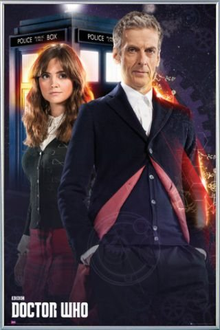 Amazon.com: Doctor Who Poster and Frame (Plastic) - Doctor And Clara ...
