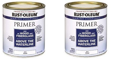 Rust-Oleum 207014 Marine Wood and Fiberglass Primer (2-(Pack))