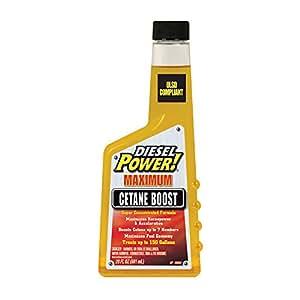 Diesel Power! 15224-6PK Cetane Boost - 20 oz., (Pack of 6)