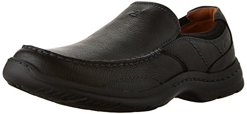 CLARKS Men's Niland Energy, Black Tumble, 11 M US