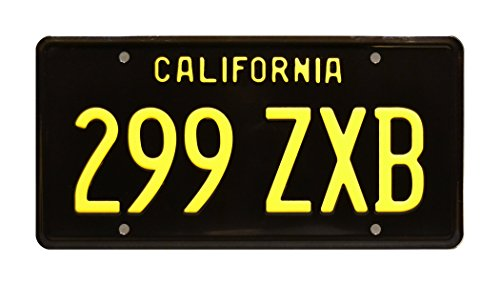 - Celebrity Machines Agents of Shield | 299 ZXB | Metal Stamped License Plate