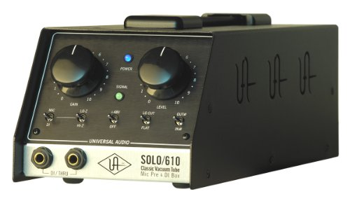 Universal Audio SOLO/610 Classic Vacuum Tube Mic Pre & DI Box