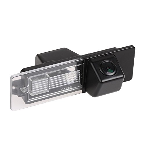 Misayaee Rear View Back Up Reverse Parking Camera in License Plate Lighting Night Version (NTSC) for BMW 1er Series/M1 E81 E87 F20 F21 116i 118i 120i 135i