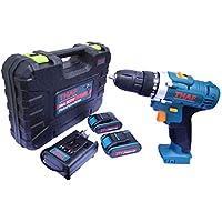 Furadeira/Parafusadeira Bateria Lithium 21V - Acompanha 2 Baterias + Maleta