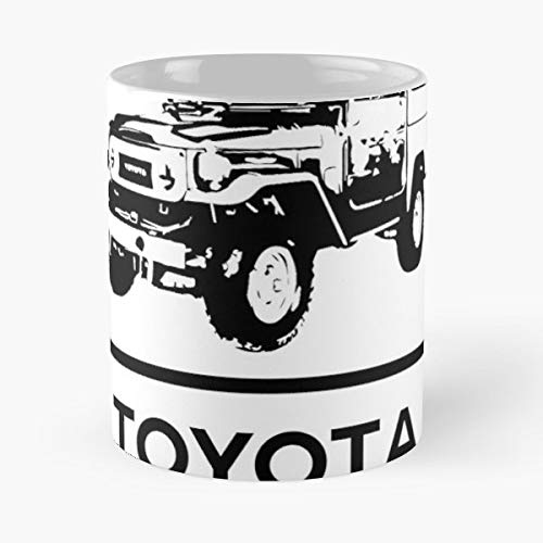Land Cruiser 40 Series Toyota - Coffee Mugs Ceramic ()
