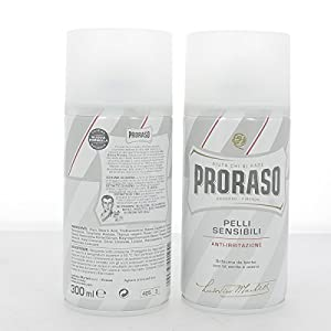 Proraso Shaving Foam, Sensitive Skin, 10.6 oz