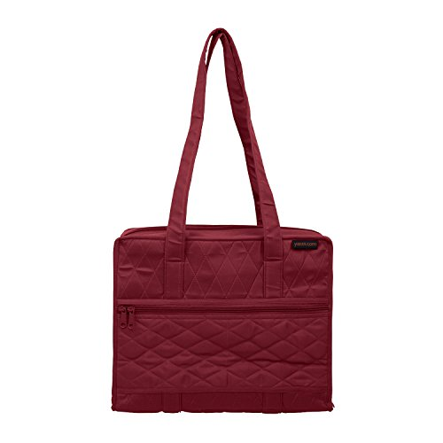 Yazzii Hand Quilters Project Bag (Maroon) by Yazzii