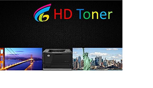 HD Toner Compatible High Capacity Toner For Dell 3110 3115 - 310-8092 310-8094 310-8096 310-8098 - High Yield 8,000 Pages (4 Pack, one of each color) Photo #2