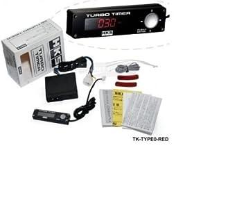 HKS Type de 0 Turbo temporizador Seguimiento regulador universal.Volkswagen Audi BMW OPEL Seat Mini Skoda: Amazon.es: Coche y moto