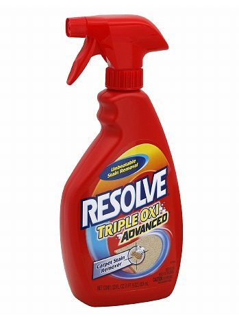 Resolve Triple Oxi Advanced Carpet Stain Remover Spray 22.0fl oz, 3 PK