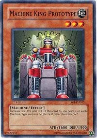 Yu-Gi-Oh! - Machine King Prototype (SOI-EN012) - Shadow of Infinity - Unlimited Edition - Common by Yu-Gi-Oh!