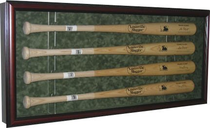 Cases Display Hat Mlb (4 Baseball Bat Display Case-18x4.5x40)