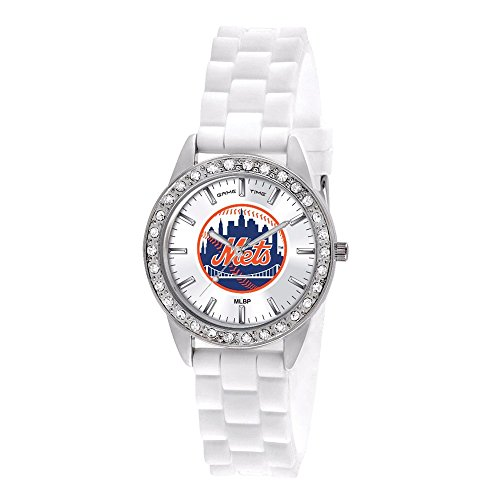 New York Mets Watch - Game Time Women's MLB-FRO-NYM