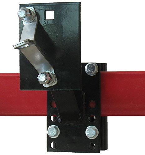 Tow Tuff TTF-0345TC Universal Spare Tire Carrier with Lock (Renewed)