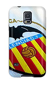 Special Skin Case Cover For Galaxy S5, Popular Valencia Fc Logo Phone Case 1495972K91583825