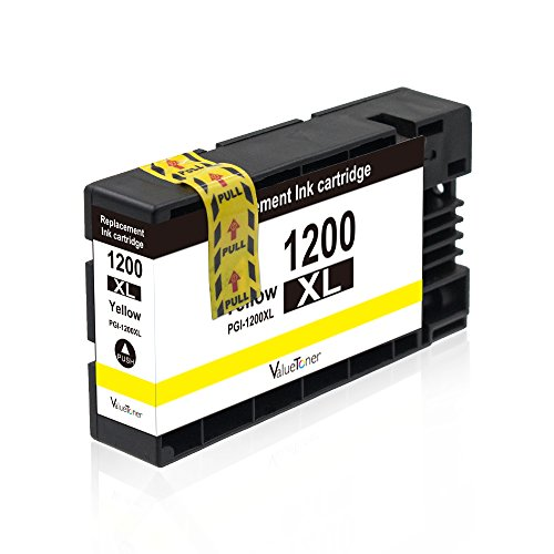 Valuetoner Replacement PGI-1200 XL 1200XL Compatible Ink Cartridge for Maxify MB2320 MB2020 MB2350 MB2050 MB2120 MB2720 Inkjet Printer, 5 Pack (2 Black, 1 Cyan, 1 Magenta, 1 Yellow) Photo #2