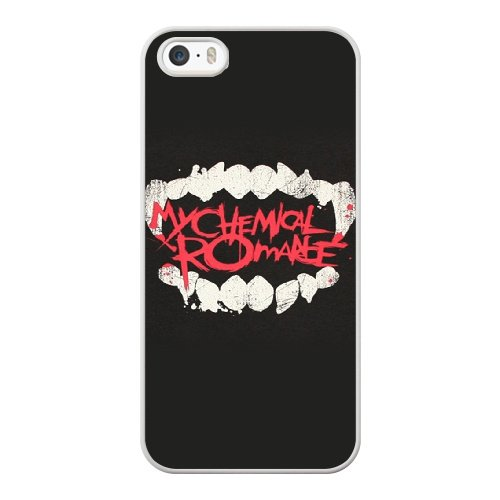 Coque,Coque iphone 5 5S SE Case Coque, My Chemical Romance Vampire Cover For Coque iphone 5 5S SE Cell Phone Case Cover blanc