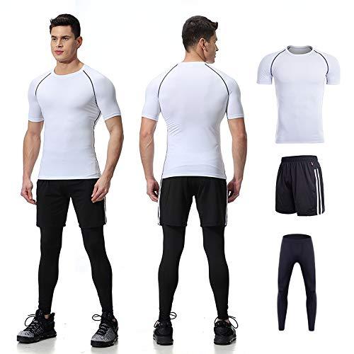 YXYBABA Traje de Fitness para Hombre, Ropa Profesional Ajustada ...