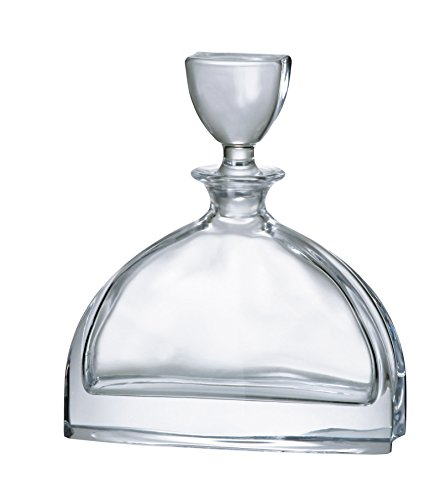 Barski - European Quality Glass - Lead Free - Crystalline - Wine - Whiskey - Liquor - Decanter - with Stopper - 24 oz. - Made in (24% Lead Crystal Decanter)