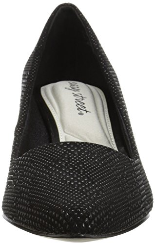 Easy Street Womens Pointe Dress Pump Nero / Nero Trama