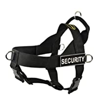 Dean & Tyler Universal No Pull Dog Harness, Security, Large, Fits Girth Size: 31-Inch to 42-Inch, Black