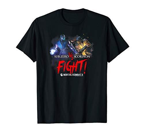 Mortal Kombat Girls (Mortal Kombat X Fight T-Shirt)
